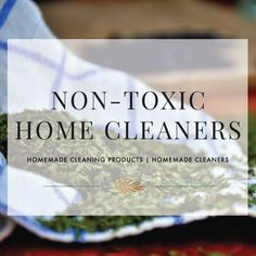 Homemade Cleaning Products | Homemade Cleaners Here are a few homemade cleaners to get you started Detoxing your home. Toilet Scrub 1/2 cup baking soda 20 drops tea treat essential oil 1/4 cup distilled white vinegar Pour into a spray bottle and spray on toilet to clean. Counter tops (Do not use on marble, granite, … Continued