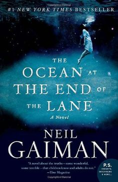 The Ocean at the End of the Lane: A Novel by Neil Gaiman: this slim novel was a bit hard for me to get into. It's a grown up fairy tale about childhood memory and how the universe feels when you are small. It's not as unique as his other books like American Gods or Neverwhere, so it was harder to overlook his writing style.