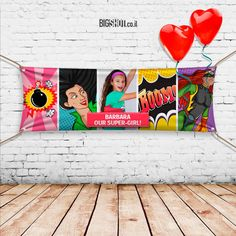 Personalized Unforgettable Decorative Vinyl Banner by BigShotStore
