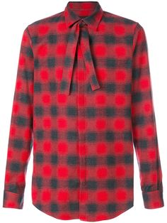 DSQUARED2 DSQUARED2 - NECK TIE CHECKED SHIRT . #dsquared2 #cloth #