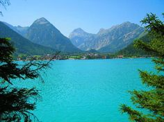 Achensee, Austria.  Yes it looks just like this.