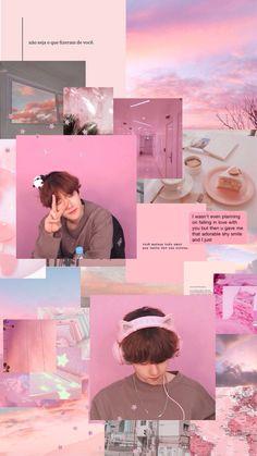 Check out SuperM @ Iomoio Kyungsoo, Chanyeol, Baekhyun Wallpaper, Bts Wallpaper, Iphone Wallpaper, Kpop Exo, Kpop Aesthetic, Pink Aesthetic, Aesthetic Collage