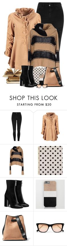 """Winter Style"" by molly2222 ❤ liked on Polyvore featuring River Island, WithChic, Forte Forte, Kate Spade, Jil Sander and Elizabeth and James"