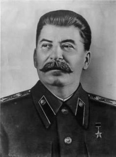 Joseph Stalin (1878-1953) was the leader of Russia during the WWII. He would stop at nothing to get absolute power and to do so he started the Great Purge (1937-38), a policy of killing anyone who threatened his power. He made a deal with Hitler (1939) to split up their spheres of influence in Eastern Europe when WWII began. Russia  became a part of Allied Forces in 1943 when Hitler attacked them.