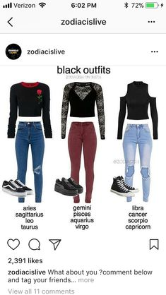I like one abd the last one Zodiac Signs Horoscope, Zodiac Star Signs, Zodiac Horoscope, Teen Fashion Outfits, Cool Outfits, Zodiac Birthday Signs, Zodiac Clothes, Zodiac Sign Fashion, Rainbow Outfit