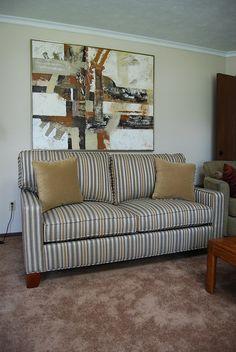 Madison Custom Series Sofa Series U0026 Sectional Series By Hallagan Furniture.  Shown Above #74