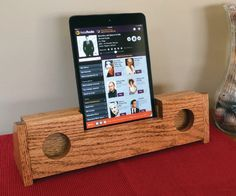 This wooden passive speaker is simple to build, inexpensive in terms of materials and makes a fantastic gift for anyone who owns a smartphone or tablet.