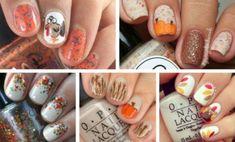 Amazing Thanksgiving Nails
