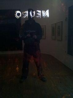 Ausstellung Sebastian Böhm NEURO steht. Ich sehe mich in der Dunkelheit! 11. Januar bis 15. Februar 2014, Vernissage 10. 1. 20:30 Uhr, Galerie Junge Kunst Trier