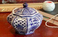 Deko-Behälter mit Deckel aus Keramik Höhe: 17,5 cm