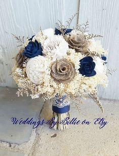 Ideas For Wedding Flowers Blue Bouquet Centerpieces Modern Wedding Flowers, Wedding Flower Girl Dresses, Spring Wedding Flowers, Flower Bouquet Wedding, Bridesmaid Bouquet, Trendy Wedding, Wedding Colors, Fall Wedding, Dream Wedding