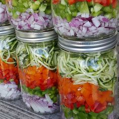 How to Build the PERFECT SALAD-IN-A-JAR with Homemade Lime Vinaigrette | Clean Food Crush