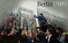 9 de noviembre de 1989, cae el muro de Berlín.