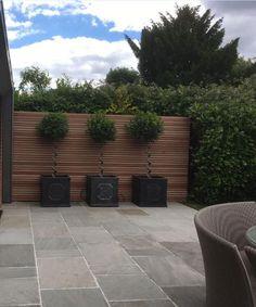 Tumbled Kandla Grey Sandstone Paving, cost effective alternative to decking Garden Slabs, Garden Paving, Garden Decking Ideas, Outdoor Paving, Driveway Paving, Garden Fences, Patio Steps, Backyard Patio Designs, Backyard Landscaping