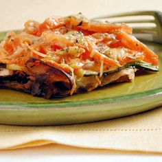 Japanese eggplants are longer and more narrow than the globe eggplants most of us are familiar with, so the slices are more manageable in the gratin. But in a pinch, you can use globe eggplants.