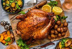 Whole Smoked Chicken Recipe by Dennis the Prescott