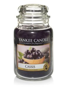 YANKEE CANDLE LARGE CLASSIC JAR CASSIS - home and gift department - www.mcelhinneys.com
