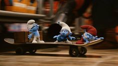 Meet Gutsy, the bravest of them all in the Smurfs Village.  The Smurfs 2 in cinemas on 2 August.