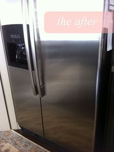 How to naturally clean stainless steel & keep it shiny!! SO easy!!!