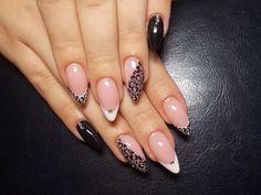 ! Nail Polish Designs, Cute Nail Designs, Acrylic Nail Designs, Cute Toe Nails, Love Nails, Pretty Nails, Bling Nails, Stiletto Nails, Gel Nails