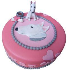 Bullterrier cake/ taart