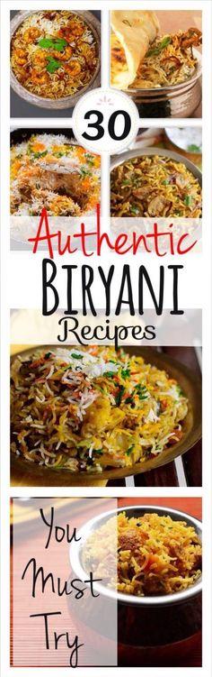 Biryani Recipes