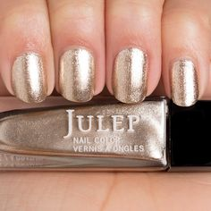 Go for the gold with this polish.