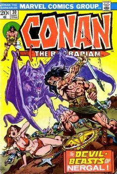 Conan the Barbarian #30 - The Hand of Nergal! (Issue)
