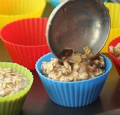 Bouchées choco-banane à l'avoine - Recettes - Ma Fourchette