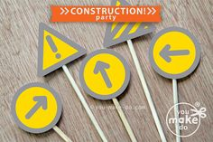 INSTANT DOWNLOAD construction party construction birthday