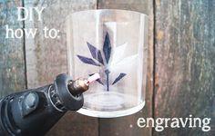 engraving glass