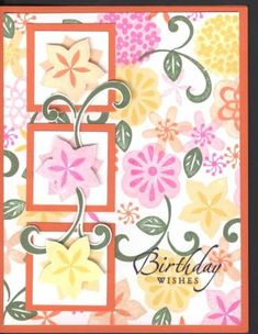 Flower Factory Birthday by JulieSoko - Cards and Paper Crafts at Splitcoaststampers