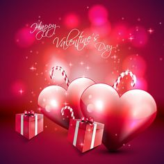 Happy Valentines Day Background Free 780x780 Hearts On Red Wallpapers