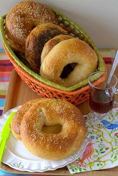 De Homemade  Cuando pienso en bagels  pienso en Nueva York, sii ya sé que fueron inventados en Europa, pero la primera vez que los probé nos...
