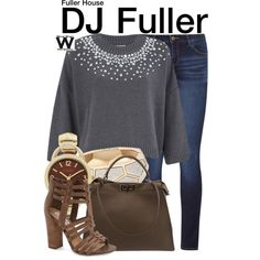 Inspired by Candace Cameron Bure as DJ Fuller on Fuller House.