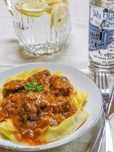 Rosemary Clooney's Viennese Goulash {recipe}