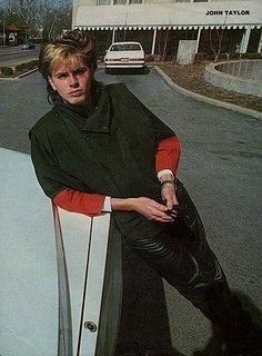 John - Duran-Duran probably leaning on one of his DeLoreans