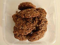 Cookie Integral de Aveia e Mel