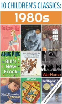 Classic Children's Books By The Decade: 1980s (There are lists for all of the 1900 decades)