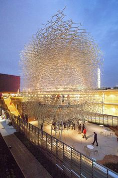 """Gallery - UK and Wolfgang Buttress Win """"Best Pavilion"""" at Milan Expo 2015 - 2"""