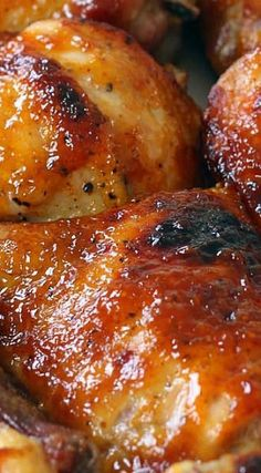Juicy BBQ chicken #bbq #chicken