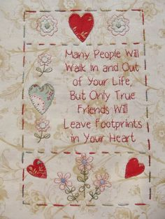 Redwork Embroidery The Friendship Quilt - Block 6 Embroidery Applique, Embroidery Stitches, Embroidery Patterns, Quilt Patterns, Machine Embroidery, Beginner Embroidery, Modern Embroidery, Quilting Projects, Sewing Projects