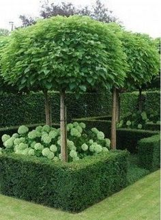 60+ Formal Garden Design Ideas_6