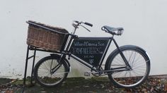 Vintage butchers bike!! The large basket is great for flowers, confetti cones, flip flops or wedding favours! Can be personalised with bride and grooms names, wedding date etc. available to hire from lindasvintagehire.co.uk
