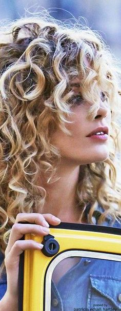 I want my curls to look like this