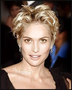 short wash and wear hairstyles for curly hair no bangs - Google Search