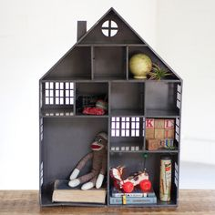 Dollhouse Storage Cubby from A Cottage in the City - how sweet is this?!