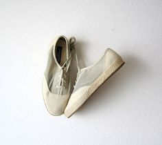 Vintage Easy Spirit Mesh Neutral Sneakers Size 9 by OiseauVintage, $24.00