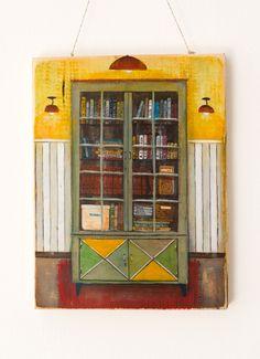 Painting on wood