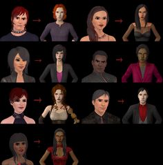 So, to populate my neighborhood with vampires that would assist with plot in (Un)Pleasantview and the short I want to do about Vicki Vampiress, I turned to TS3. And the result was 7 Sims, remade in TS2 to resemble their TS3 counterparts as closely as possible. I admit, I took some artistic…